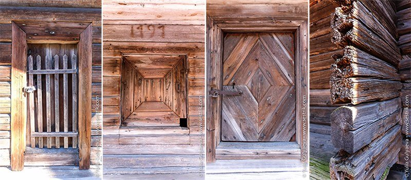 финские деревянные окна и двери
