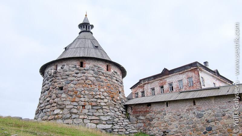 башня Соловецкой крепости