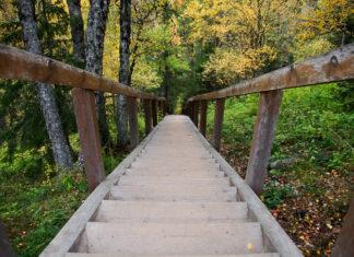 лестница не Секирной горе