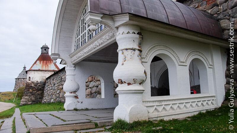 святые ворота Соловецкий монастырь