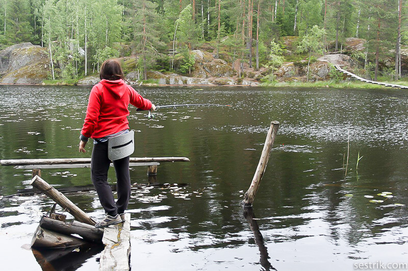 yastrebinoe ловля рыбы