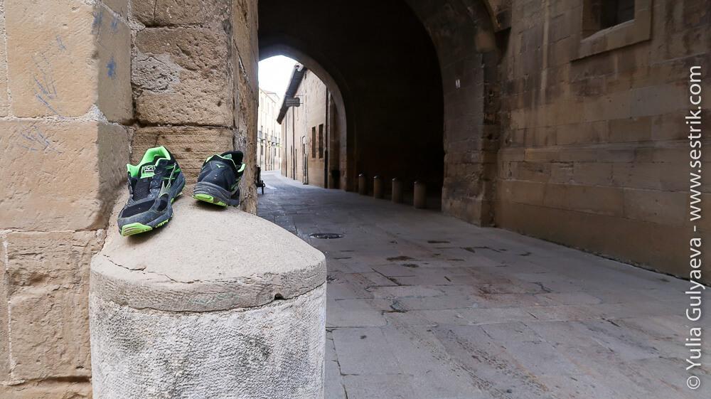 кроссовки оставленные на пути пилигримами