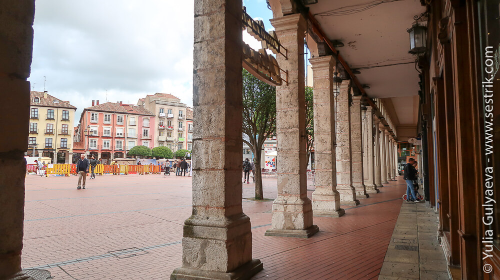главная площадь города бургос