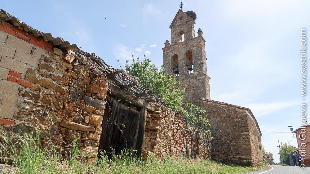 колокольня церкви в Эль Гансо