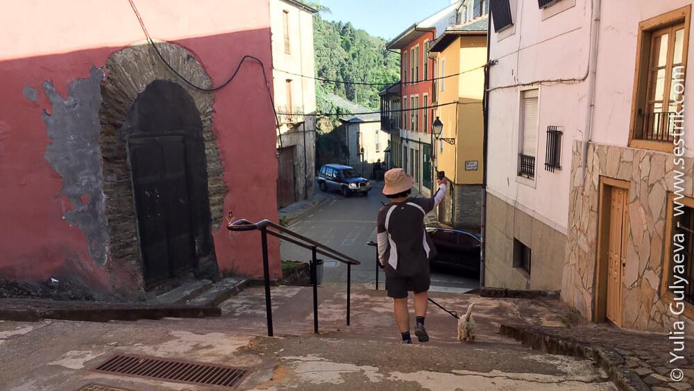 путь через Вильяфранка дель Бьерзо