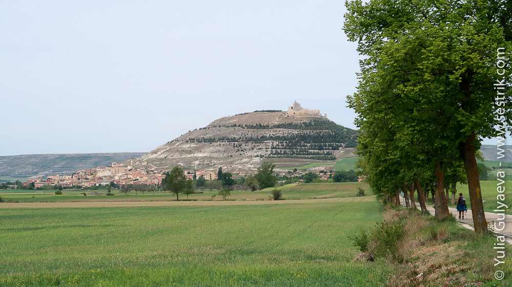 город Кастрохерис с крепостью на горе