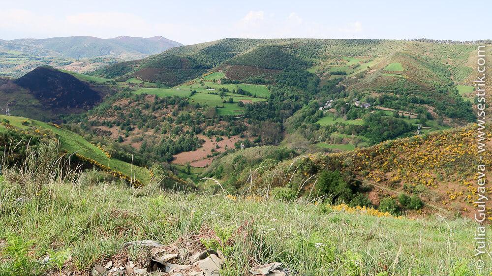 зеленые поля Галисии