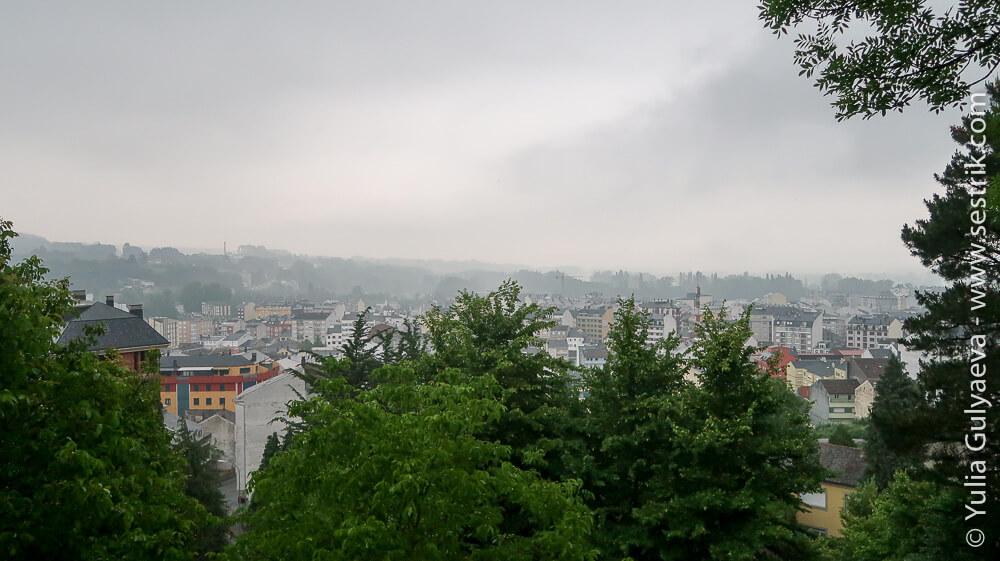 Вид на город Сария