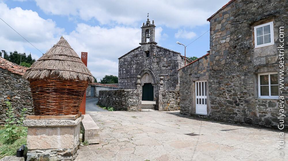 Площадь в испанском селе