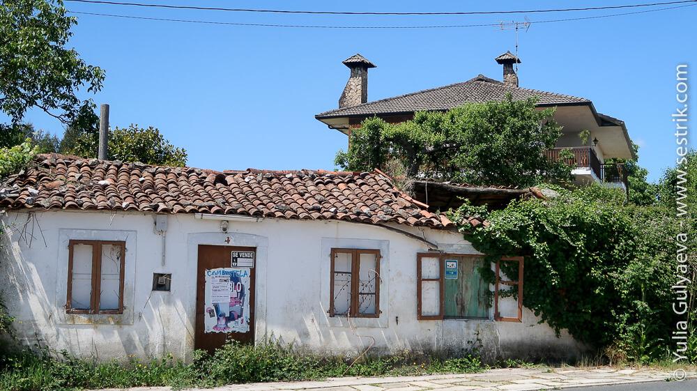 Заброшенные дома в Галисии