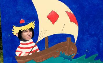 лодка папы мумми тролля и я