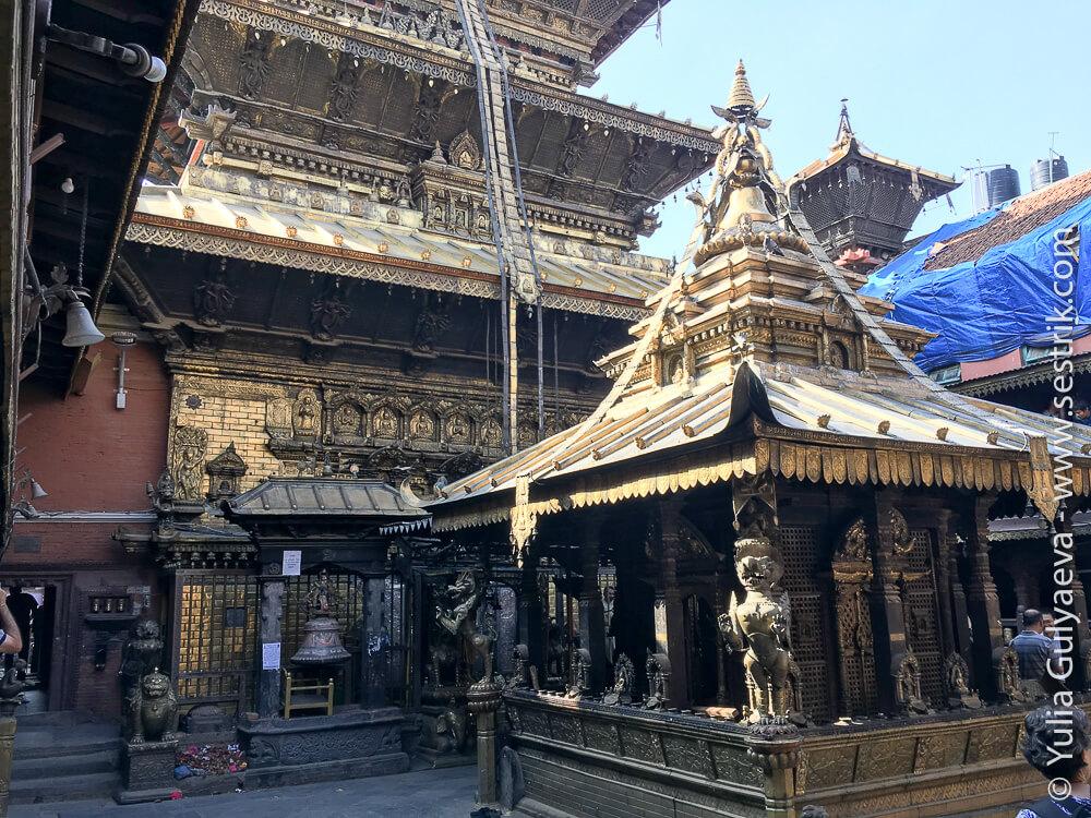Золотой храм в Патане Катманду