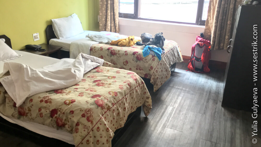 комната отеля в районе Тамель