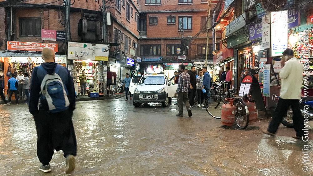 район Тамель в Непале