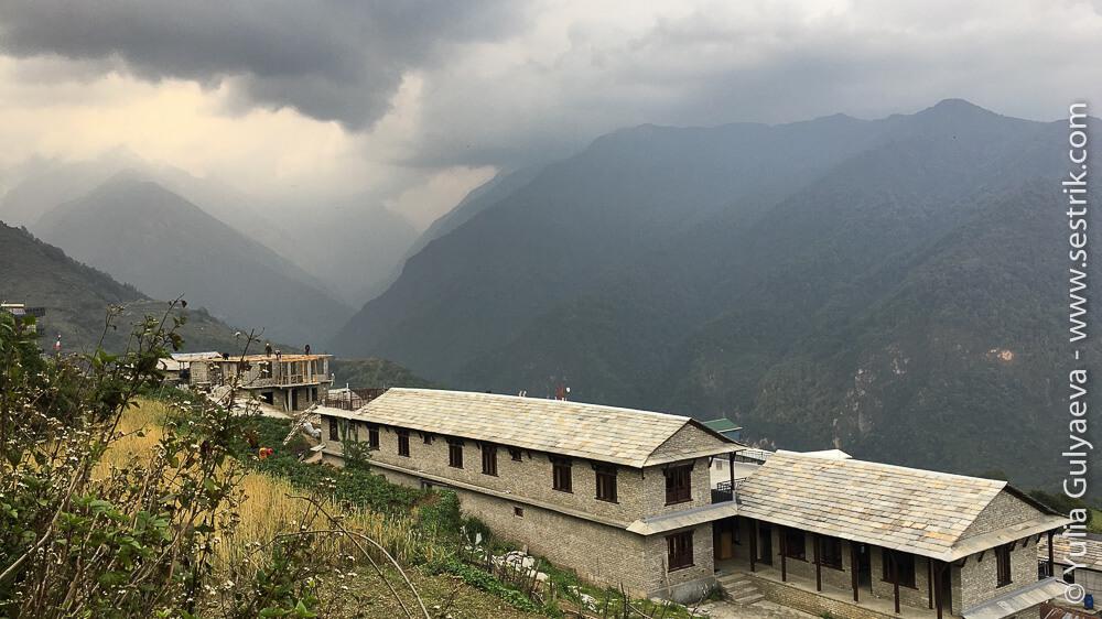 Лоджи в Гандрук Непал