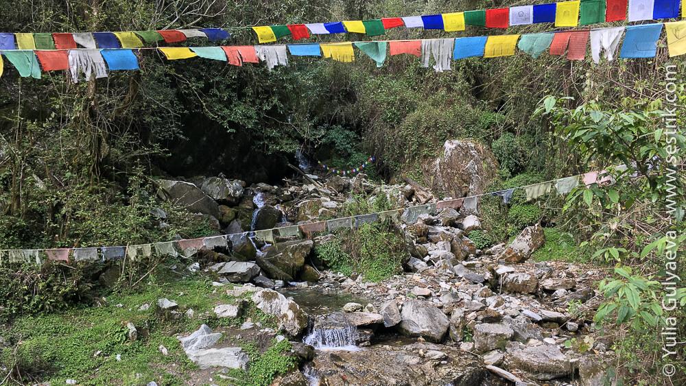 Флашки лунгта в горах Непала