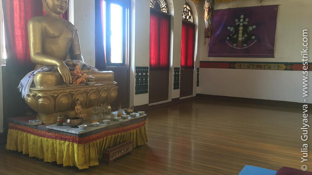 Комната для медитация в отеле