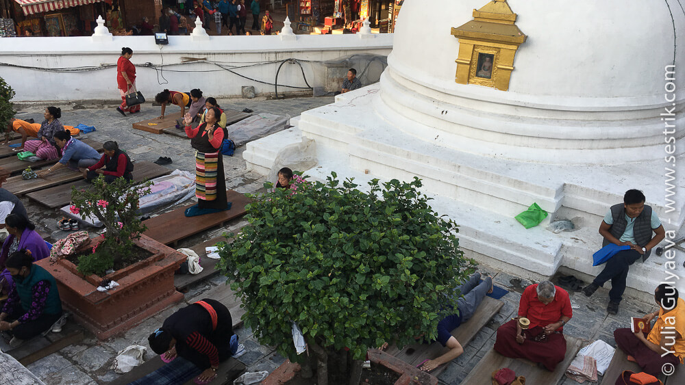 непальцы молятся