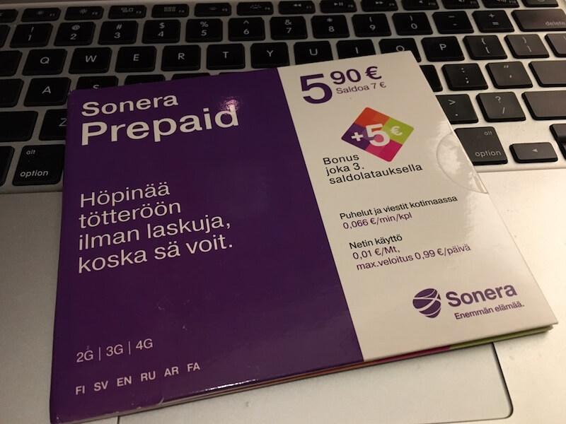 Мобильный интернет в Финляндии