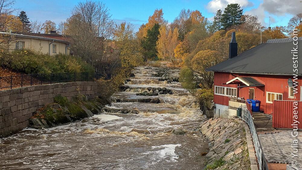 Водопад на реке Вантаа
