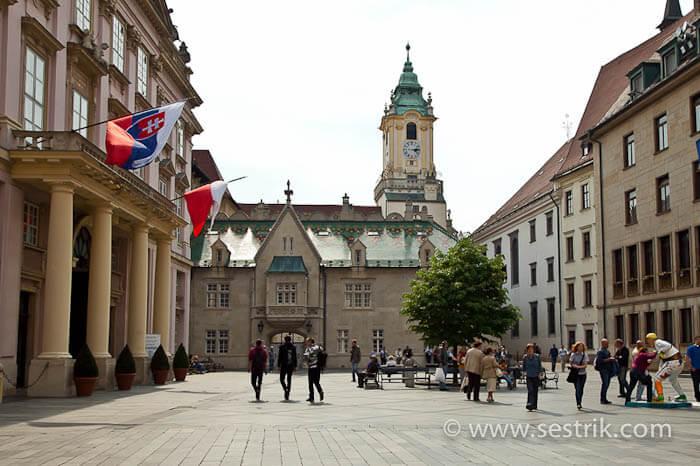 Достопримечательности Братиславы