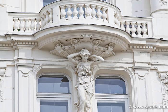 Архитектурные детали Вены