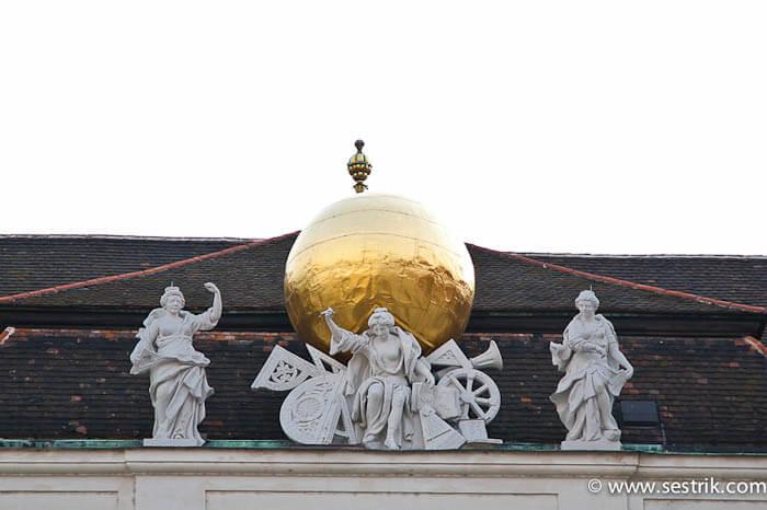 Архитектурные детали Хофбург