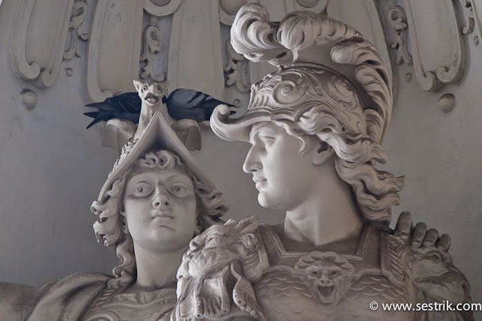 Памятники Вены Хофбург