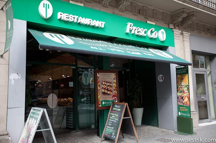 где поесть в Барселоне Fresc CO
