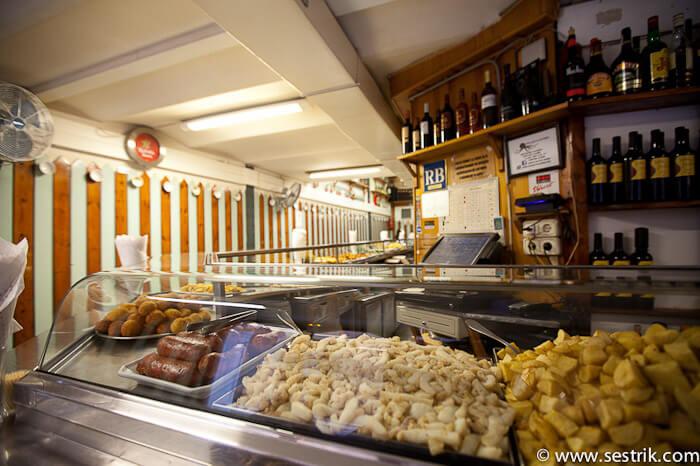 Где поесть в Барселоне Готический квартал