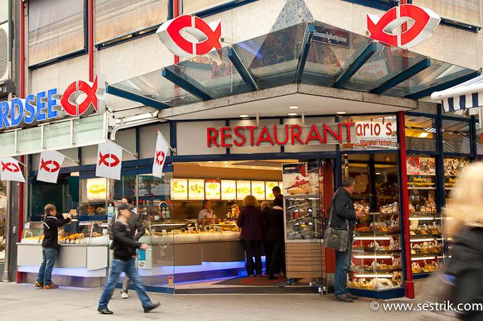 рыбный ресторан nordsee