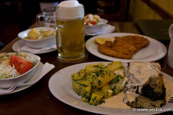 австрийская кухня картофельный салат