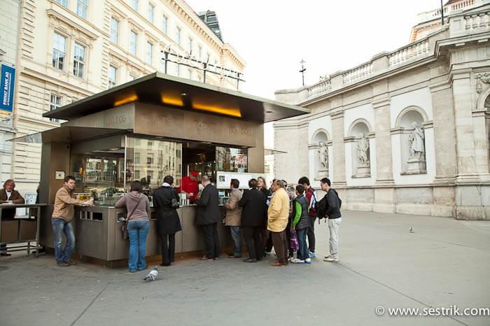 Австрийская кухня венские сосиски