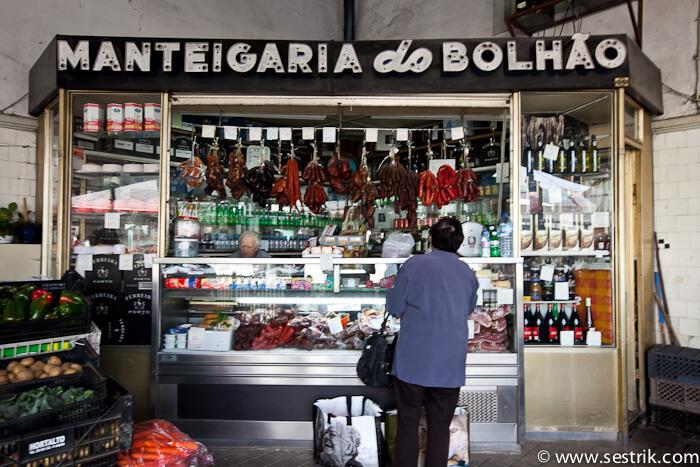 фото рынка в Порту