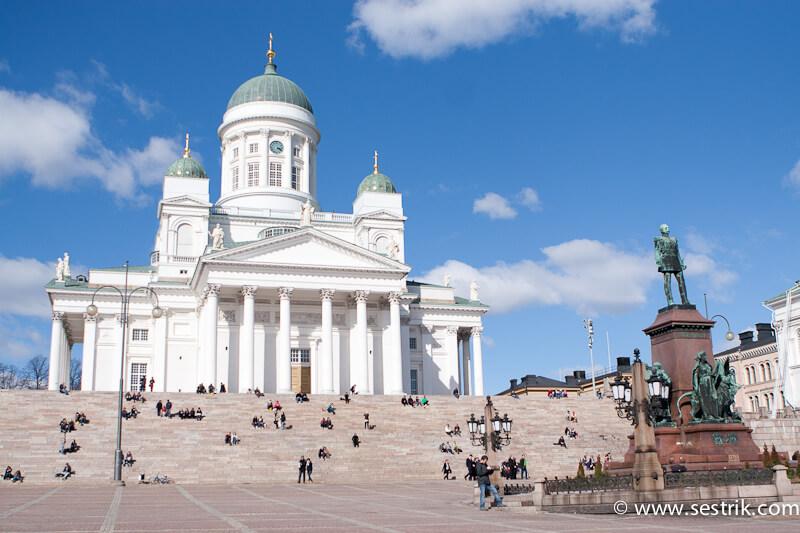 Лютеранский кафедральный собор в Хельсинки