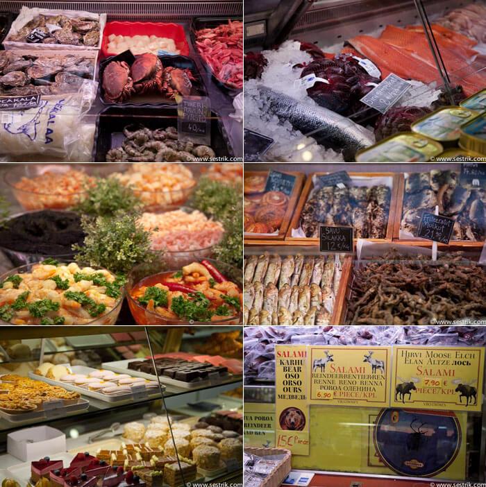 Рынок Vanha Kauppahalli