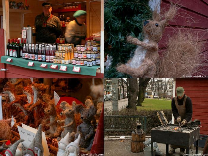 Рождественский рынок в парке Эспланада