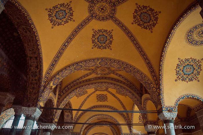 Святая София в Стамбуле убранство внутри