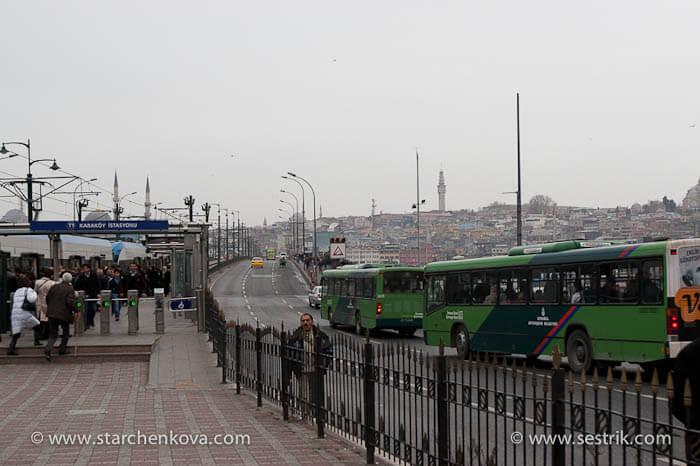 мост через Золотой рог