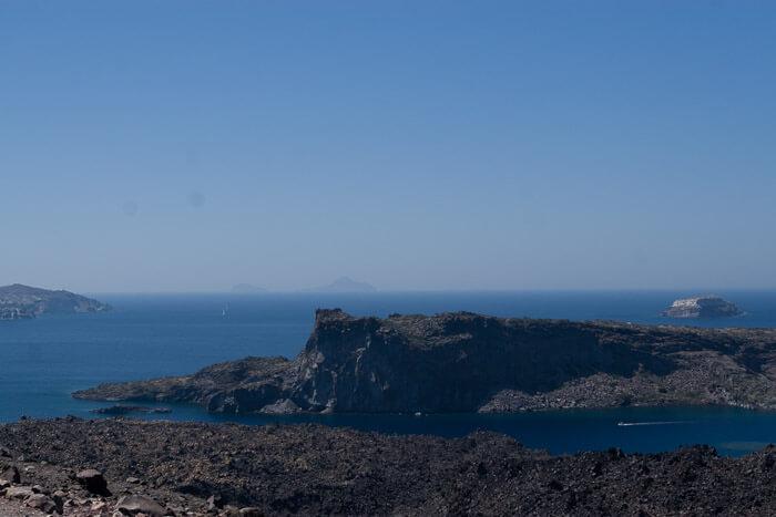 Санторини фото, вулкан Санторини