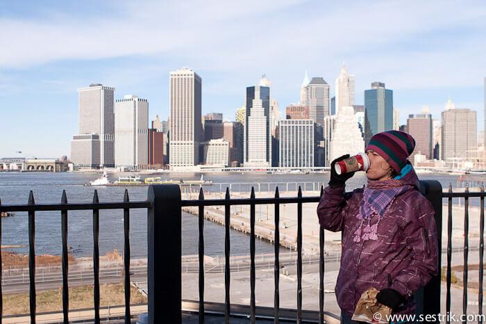 Фотографии Нью-Йорка Бруклинский променад