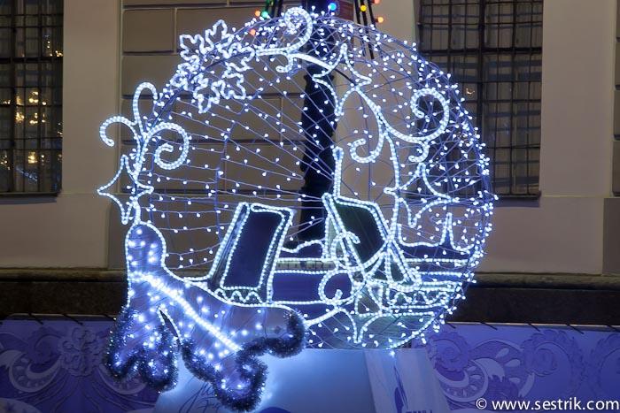 Новогодняя подсветка своими руками