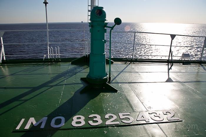 паром в таллин палуба корабля