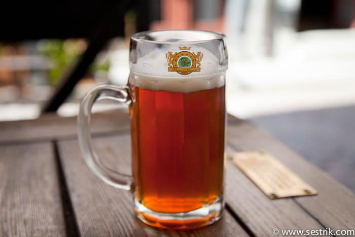 пиво из пивной beer house в Таллине