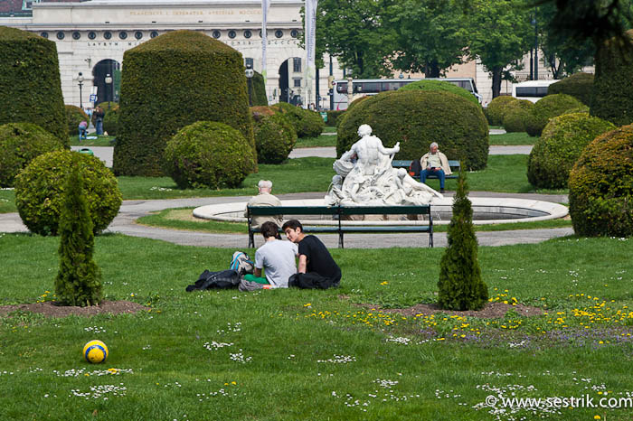 площадь у художественно-исторического музея