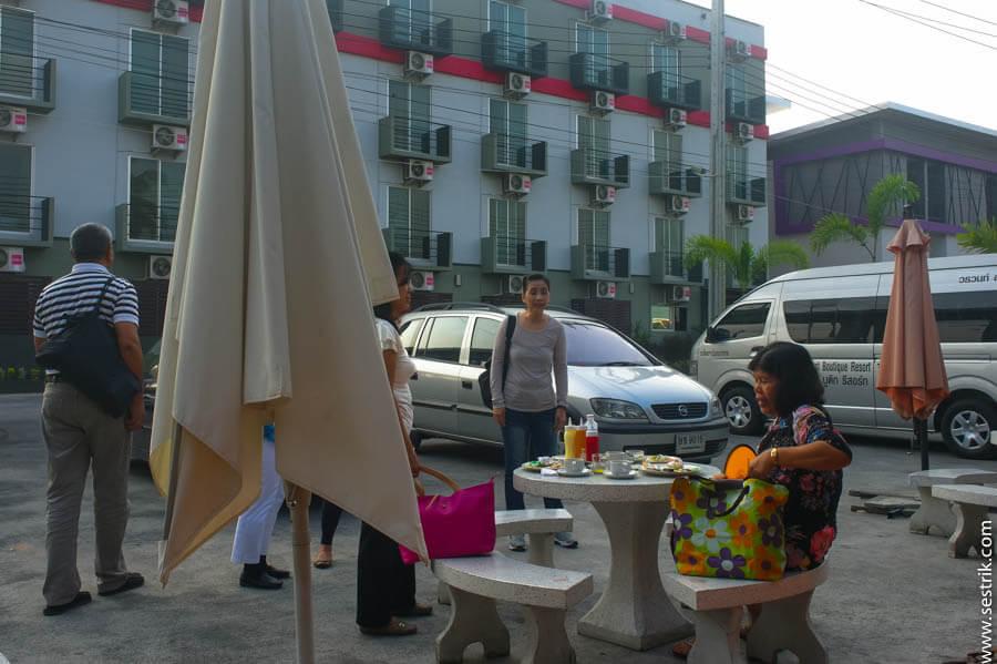 Недорогой отель у аэропорта Бангкока