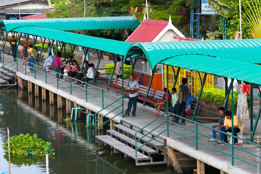 на лодках по Бангкоку