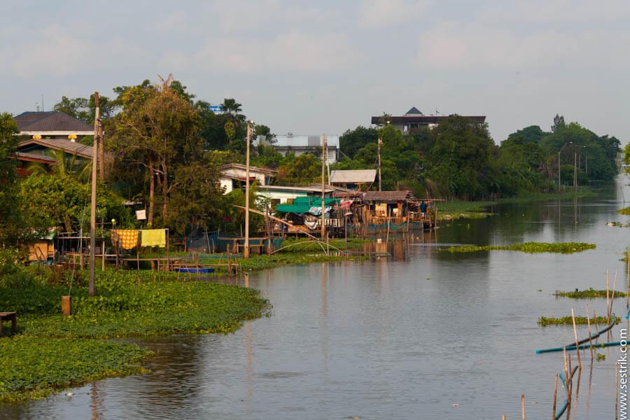 Окраина Бангкока