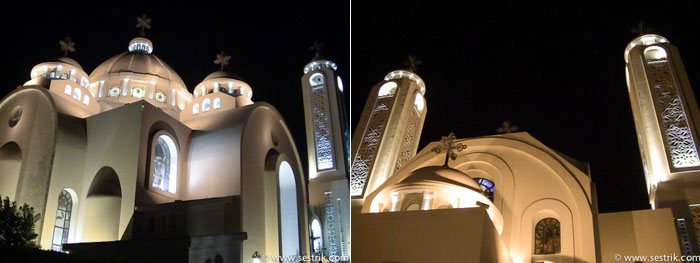 Православная Коптская церковь в Шарме