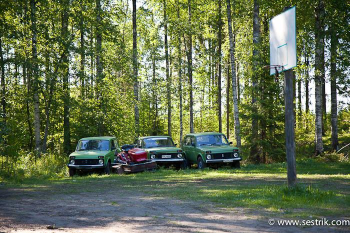 Отдых в Финляндии Джип сафари